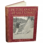 1919 Picture Analysis of Golf Strokes by James Jim M. Barnes