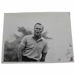 "Arnold Palmer 9x7 US Open At Oakmont ""Grimace"" Wire Photo 5/23/62"