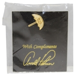 Arnold Palmer Gold 50 Lapel Pin in Original Package