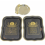 National Amateur Golf Tray with Jack & Arnie Plus Unmarked Ash Tray & Jim Thorpe Trophy Tray