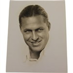 Original Culver Studios Bobby Jones Portrait from How I Play Golf Films