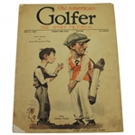 1921 The American Golfer The Sport Pictorial Magazine - July 2nd