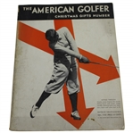 1930 The American Golfer Hitting Through Magazine with Grand Slam Content - December