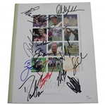 Palmer, Nicklaus, Mickelson, & others Signed 2001 Fred Meyer Challenge Program JSA FULL #Z68024