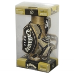 Arnold Palmers 50th Masters Appearance Lt Ed Commemorative Callaway Mini Golf Bag - April 2004