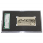 1932 W.D. & H.O. Wills Bobby Jones At The Road Hole St Andrews Cigarette Card #16 SG.LLC 8061774-021