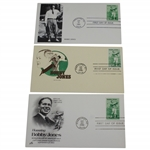 Three Bobby Jones 1981 First Day Covers - Pinehurst, NC