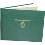 Peachtree Golf Club 1st Edition Member Club History Book Inscribed by Manager Mead Grady