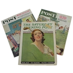 Three The Saturday Evening Post Magazines - April 1933, July 1960, & September 1960