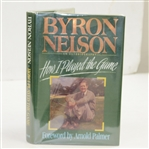 Byron Nelson Signed How I Played the Game Book JSA ALOA