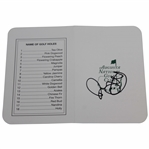 Rory McIlroy Signed Augusta National Golf Club Scorecard JSA ALOA