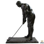 "Large Walter Hagen Bronze Statue at Address - 23"" Tall & Weighs 50lbs! -  Excellent Condition"