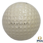 1976 Jack Nicklaus World Series Of Golf Winning Tourney 2 Golf Ball with PGA Stationery
