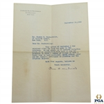 Charles C.B. Macdonald Signed 1928 Letter to Thomas Baskerville About Book Content JSA ALOA