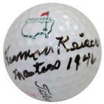 Herman Keiser Signed Classic Masters Logo Golf Ball with Masters 1946 JSA FULL #BB50948