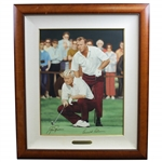 "Arnold Palmer & Jack Nicklaus Signed Ltd Ed 1971 Ryder Cup ""The King & Golden Bear II"" Deluxe Serigraph"