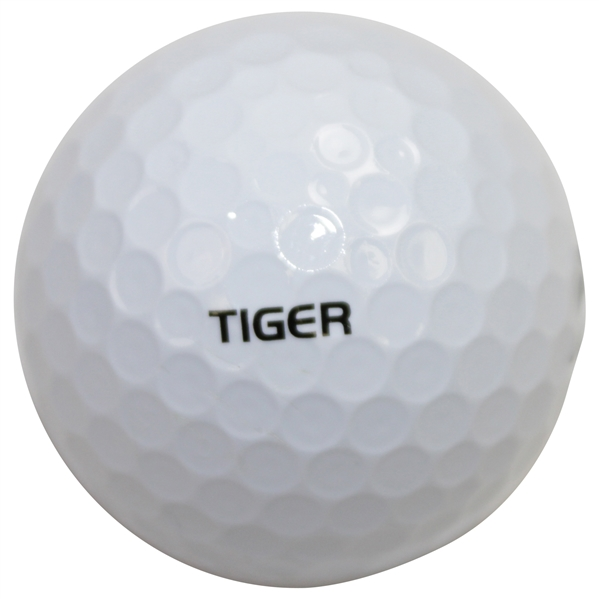 Tiger Woods Personal Marked Bridgestone 1 Golf Ball
