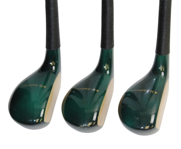 Three (3) Billy Casper Corporate Cup Challenge Golf Classic St. Andrews Comm. Putters with Headcoveers