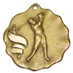 Horton Smiths 1929 Inaugural Greater Pensacola Open Golf Tournament Winners 14k Gold Medal
