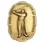 Horton Smiths 1941 St Paul Junior Assoc. of Commerce Open 1st Place Winners Medal - Last of 30 PGA Wins