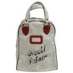 Arnold Palmers Personal Classic Red/White Wilson Shag Bag with Letter