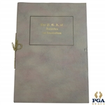 The PGA of America an Invitation Booklet from State of Ohio & City of Columbus, Chambers, & other