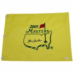 George Archer Signed 2005 Masters Embroidered Flag JSA #P94942