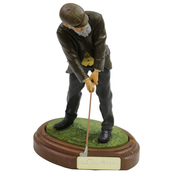 Old Tom Morris Statue Figure Handcrafted in England by Endurance Limited - 1993