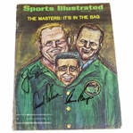 Big 3 Palmer, Nicklaus, Player Signed 1966 Sports Illustrated Magazine - Wayne Beck Collection JSA ALOA