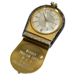 1965 PGA 4-Ball Championship Pro-Am LeCoultre Awarded Pocket Watch In Working Condition!