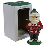2020 Masters tournament Ltd Ed Holiday Caddie Gnome in Original Box - NEW