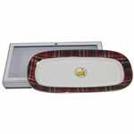 2020 Masters Tournament Home Collection Tartan Serving Tray in Original Box - New