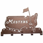 Masters Tournament Bronze Hook Wall Art in Box