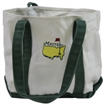 Masters Tournament Green/White Canvas Tote Bag