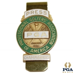 1964 PGA Championship at Columbus CC Contestant Badge - Bobby Nichols Winner