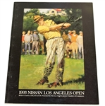 Tommy Bolt Signed 1993 Los Angeles Open at Riviera Country Club Program JSA ALOA