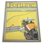 1930 Fortune Magazine w/ Bobby Jones Wins The Open Championship At St. Andrews Currier & Ives Print