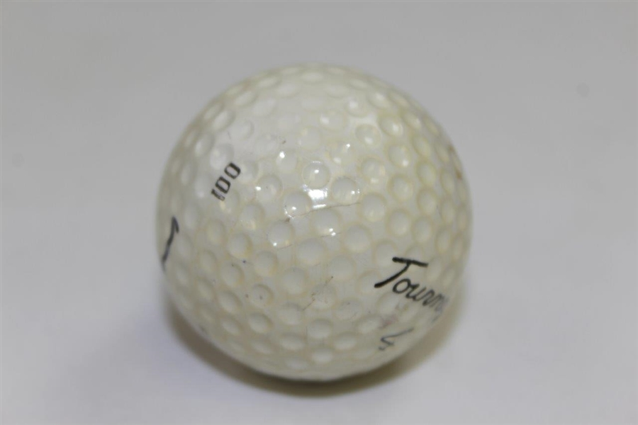 Jack Nicklaus Signed Personal MacGregor 'Jack Nicklaus J' Tourney 4 Golf Ball JSA ALOA