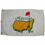 Classic 1993 Masters Tournament White with Yellow Logo Flag - 1st Masters Souvenir Flag
