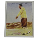 Vintage Walter Hagen Famous Golfers W.D. & H.O. Wills Golf Card No. 7