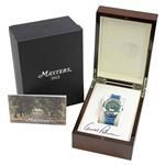 Arnold Palmer Signed Ltd Ed 2012 Masters 1962 Badge Watch in Original Box - Unused JSA ALOA