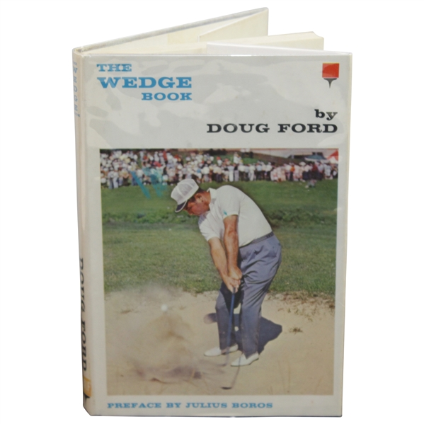 Doug Ford Signed 1963 'The Wedge Book' by Doug Ford JSA ALOA