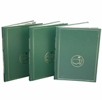 1985, 1987, & 1988 Masters Tournament Annual Books - Langer, Mize, & Lyle Winners