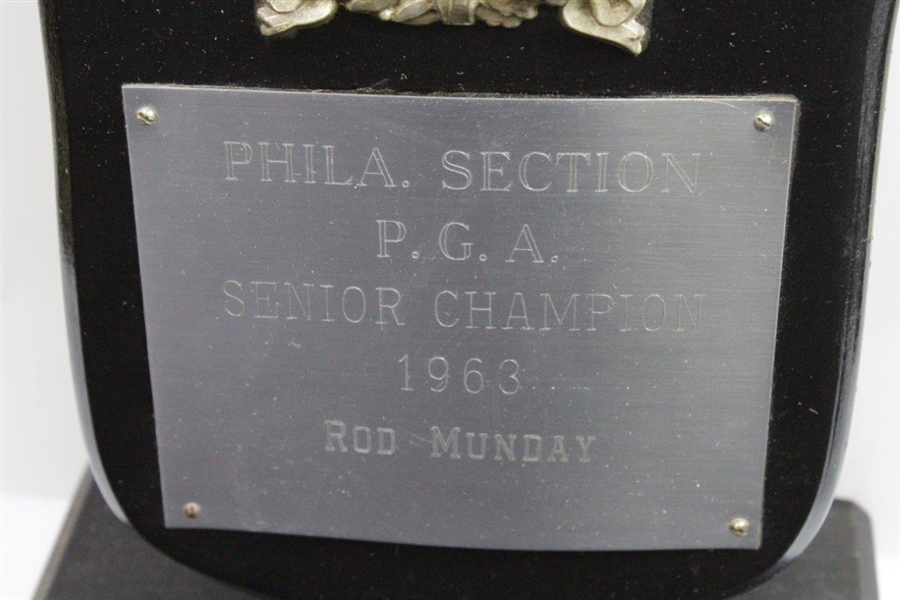 Rod Munday's 1963 P.G.A. Senior Champion Philadelphia Section Trophy