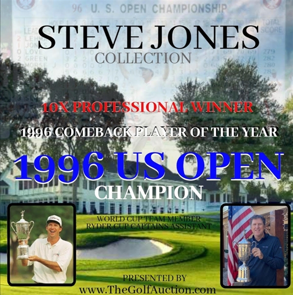 Steve Jones Personal 1996 US Open Championship Sterling Silver Trophy Won At Oakland Hills