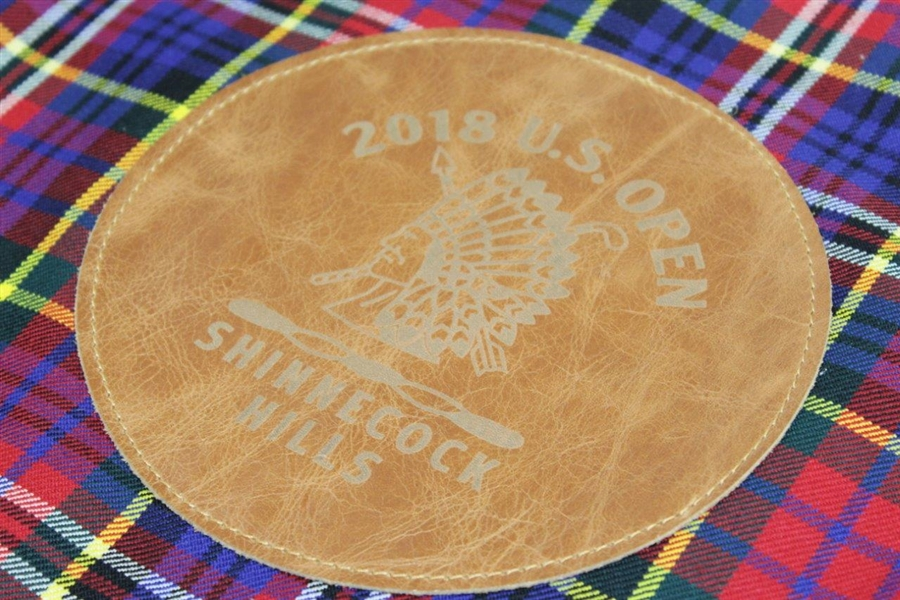 2018 US Open at Shinnecock Hills Embroidered Tartan Seamus Flag