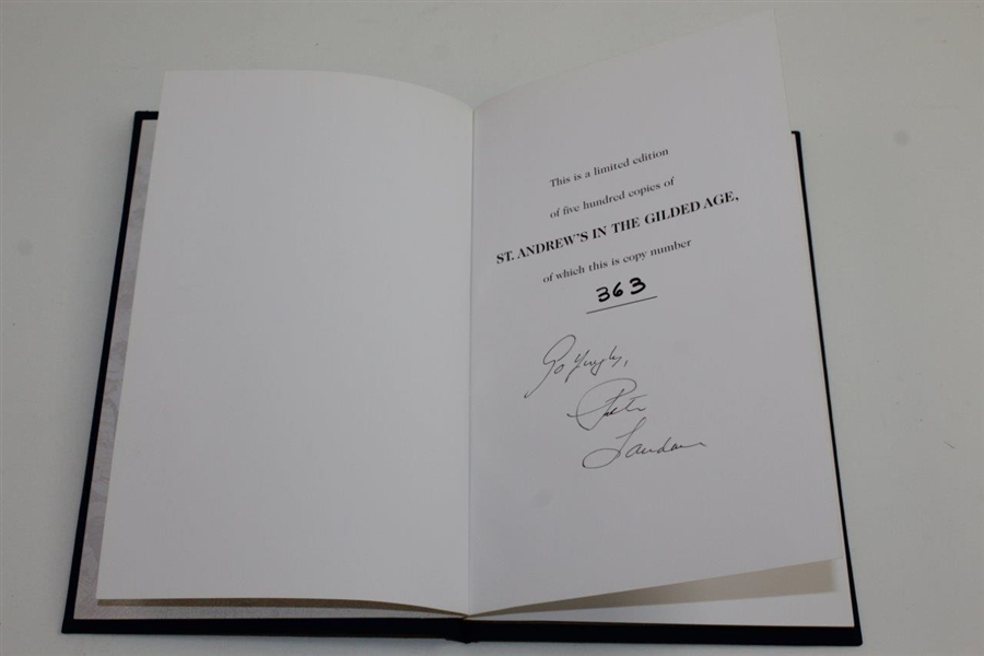 'St Andrews in the Gilded Age' Members Only Signed Ltd Ed Book by Peter Landau