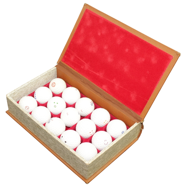 1899-1939 Anthology of the Golf Ball Ltd Ed with 15 Golf Balls in Original Box