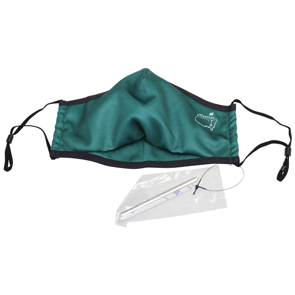 Masters Tournament Official Face Covering Mask in Original Packaging - Size L/XL Unused