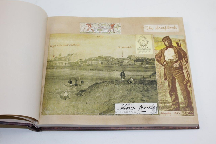 2001 'The Scrapbook of Old Tom Morris' Compiled by David Joy